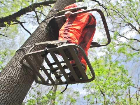 API Outdoors Aluminum Marksman Climber Tree Stand