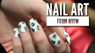 Holo Glitter, Crystals, & More at NYFW!