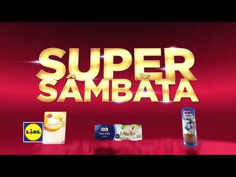 Super Sambata la Lidl • 21 Aprilie 2018