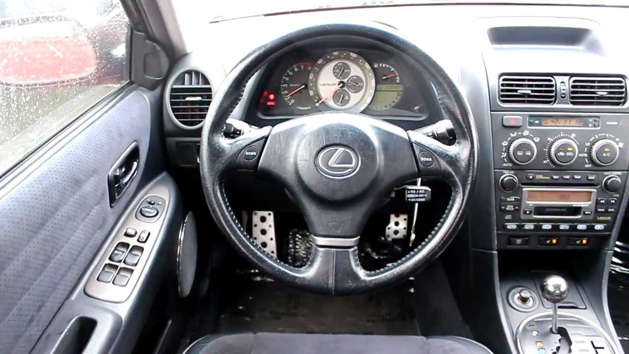 2003 Lexus IS300 Sedan, Red   Stock# L066036   Interior