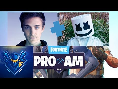 Fortnite - Ninja and Marshmello win Fortnite Celebrity Pro-Am!