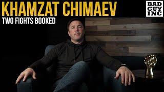 Dana White Booking TWO Fights For <b>Khamzat Chimaev</b>...