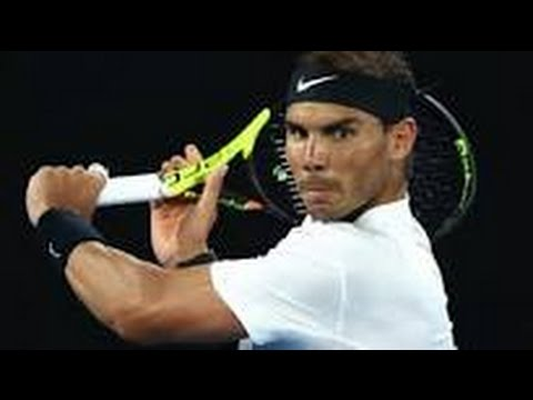 MATCH POINT RAFA NADAL WINS Against MILOS RAONIC To REACH SEMI FINAL AUSTRALIAN OPEN TENNIS 2017  +