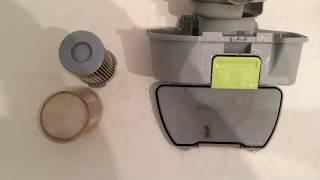 Чистка фильтра пылесоса Electrolux ZAC 6716
