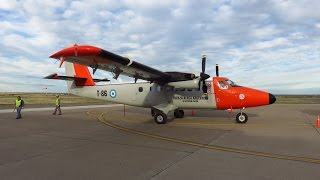 lade dhc 6 200 flight from puerto madryn el tehuelche pmy to comodoro rivadavia crd argentina