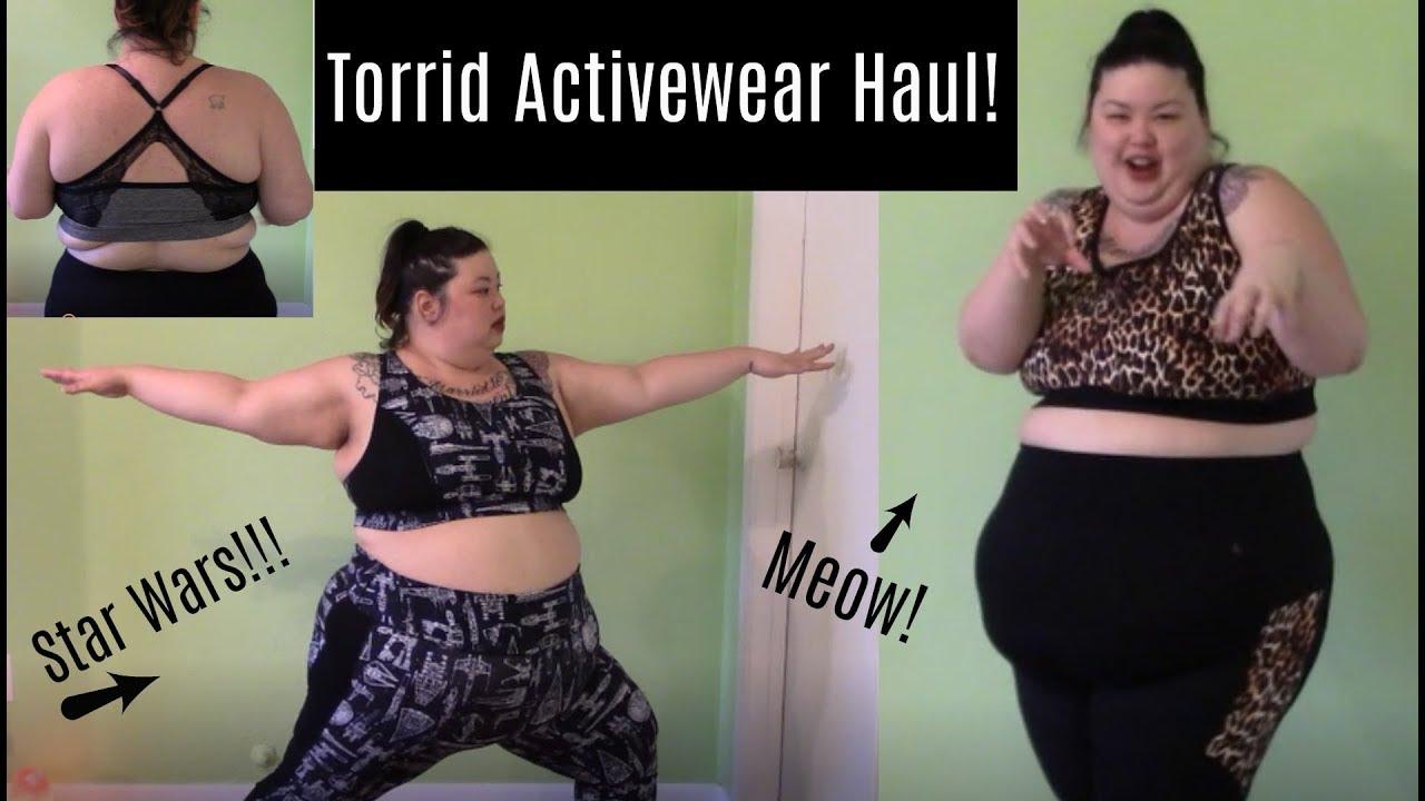 31906c585d0ac Torrid Haul    Plus Size Activewear Including Star Wars prints ...