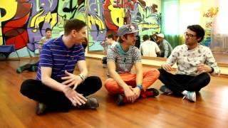 Танцуй № 68! Урок по брейк-дансу!