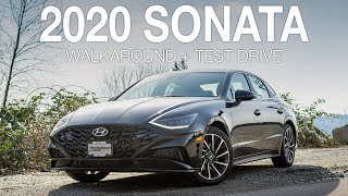 2020 Hyundai Sonata Ultimate Walkaround and Virtual Test Drive