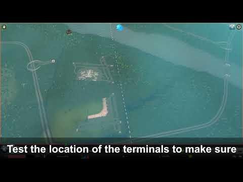 #CitySkylines #AfterDark #MassTransit City Skylines: Airport Complex Build |