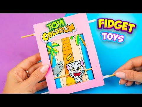 Как сделать настольную игру Том за Золотом, своими руками   Talking Tom Gold Run