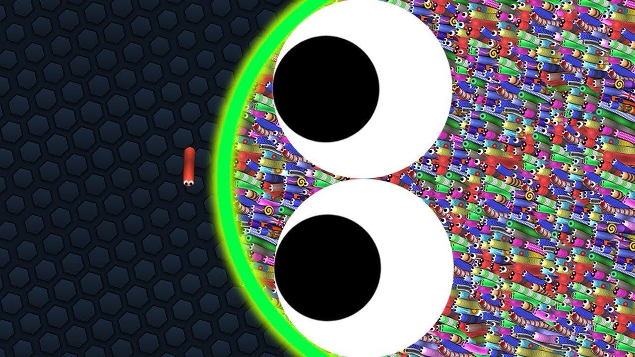 Slither.io A.I. 100,000+ Score Epic Slitherio Gameplay