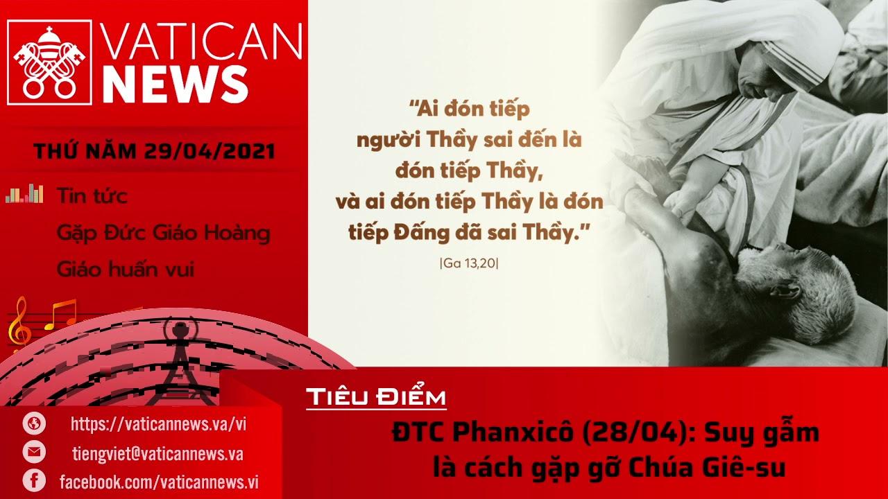 Radio thứ Năm 29/04/2021 - Vatican News Tiếng Việt