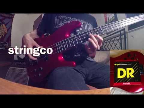 String Comparison: Ernie Ball Slinky, DR HI-BEAM, RotoSound Swing Bass & D'Addario Nickel Wound