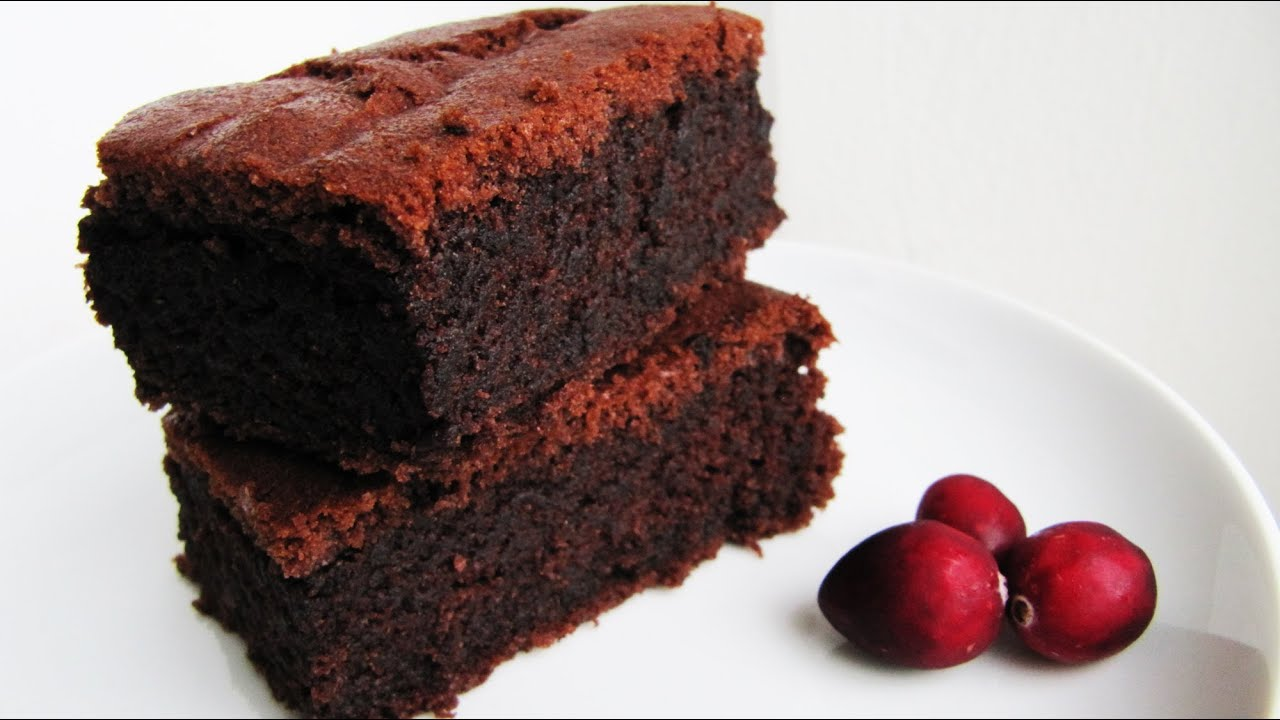 Easy Moist Chocolate Brownie Cake Recipe