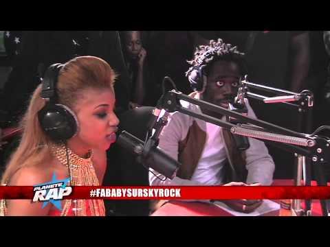 Fababy & Jessie K  en live #PlanèteRap