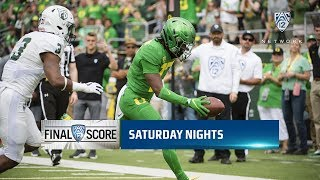 Recap Oregon Runs Past Portland State Manages Third Straight Season With 2 0 Start
