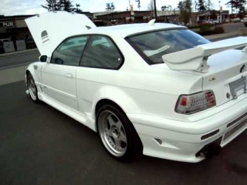 1994 Bmw Euro M3 Model 300hp Wide Body Kit Modified