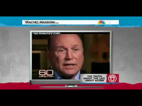 GOP Thugs accuse President Obama for Acorn Rachel Maddow  Part1  1/2