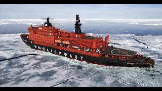 """世界上最""""牛""""的破冰船,造价高达70亿,破冰过程太震撼了!"""