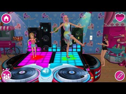 Barbie Dreamhouse Adventures - Barbie & Friends Design, Dance, Christmas Party - Game For Girls - P2