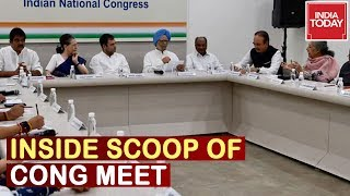 Inside Track Of Congress Meet With MLAs, Letter Of Opinion Signed By Maha Cong MLAs With Sonia
