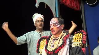Yakshagana -- Krishna Krishna Shri krishna - 19 - Bantwala Kasaragod Hasya