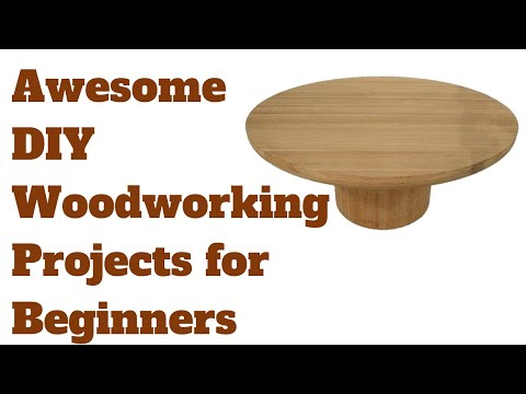 Awesome DIY Woodworking Projects for Beginners