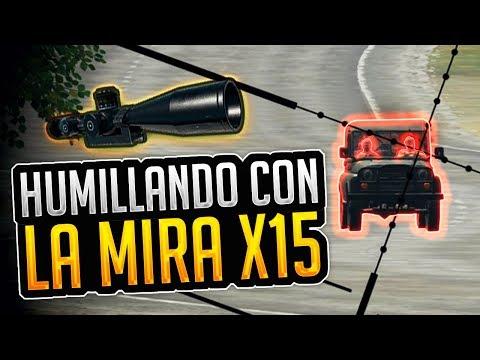 ¡REPARTIENDO MOCHAS CON LA X15! - PLAYERUNKNOWN'S BATTLEGROUNDS (PUBG) GAMEPLAY ESPAÑOL | Winghaven