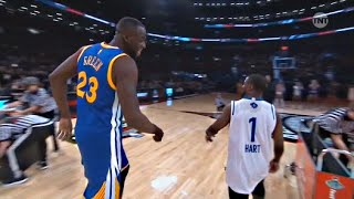 Repeat youtube video Kevin Hart vs Draymond Green - 3 point Shootout - 2016 All-Star Weekend