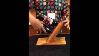 Wine Bottle Holder - Double