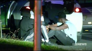 Nine News. Riot Squad Called On African AirBnB Rampage.(Apex/MTS)(Werribee)
