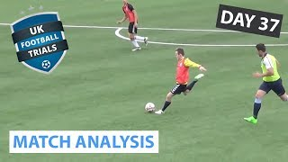 UK FOOTBALL TRIALS - WAS I SCOUTED? (PERFORMANCE ANALYSIS)