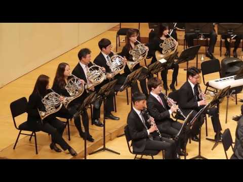 Sejong Wind Orchestra - Variations on a Korean Folk Song - John Barnes Chance