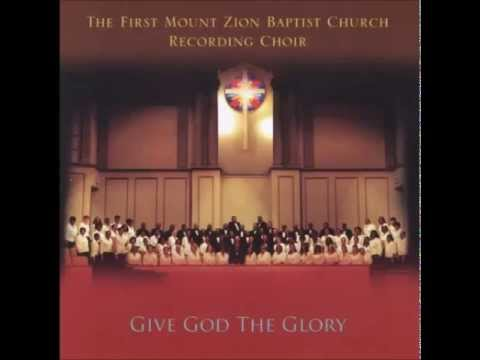 The First Mount Zion Baptist Church Recording Choir -  All Of My Help