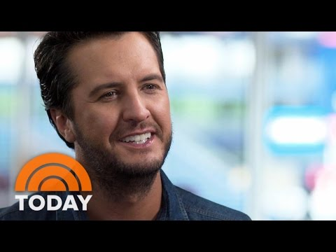 Luke Bryan: My Art Is Getting 'People Together And Make Them Have A Good Time' | TODAY