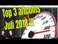 Top 3 altcoins Juli!! Veel groeipotentieel!!