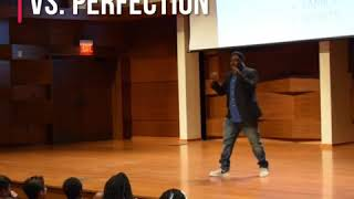 Excellence vs. Perfection: Calvin University Speaking Engagement