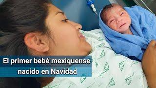 Kareem, el primer bebé mexiquense nacido en Navidad