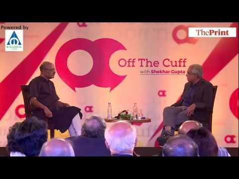Off The Cuff with NITI Aayog Vice Chairman Rajiv Kumar