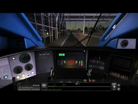 [TS2016] Voyage de Marseille a Avignon TGV en cabine de TGV Duplex - HD