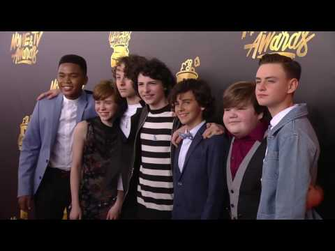 Cast of It on the Red Carpet at the 2017 MTV Movie & TV Awards