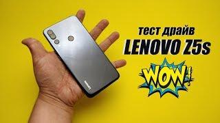 ДОЖДАЛИСЬ! Бюджетный смартфон с 710 Qualcomm Snapdragon. Обзор Lenovo Z5s.