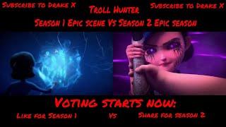 Trollhunters season 1 and 2 Epic scene