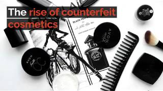 The rise of counterfeit cosmetics