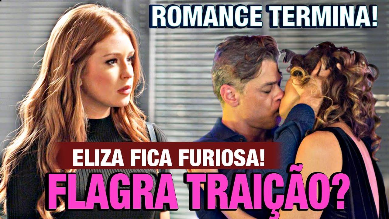 """""""TOTALMENTE DEMAIS""""  Após engatar namoro com Arthur Eliza vai flagrar o homem fazendo algo chocante!"""