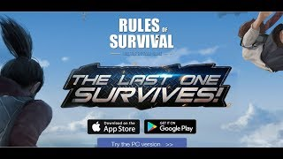 Rules Of Survival blitz mode