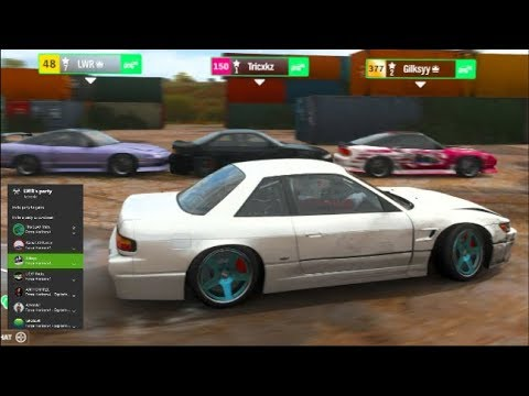 Forza Horizon 4 Online - The Car Centipede! HELP US!! Truck Mini Game! thumbnail