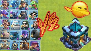Townhall 13 vs all max lvl troops of coc🔥townhall vs troops💗coc💘 incredible Battle💫unity clash💕