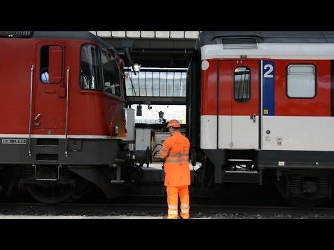 Swiss Trains Zürich Hauptbahnhof