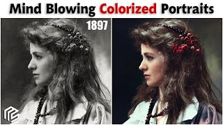 Historical Portraits Brought To Life Using Colorization And AI Technology